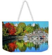Rowing Club Color Weekender Tote Bag