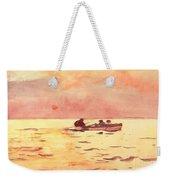 Rowing Home Weekender Tote Bag by Winslow Homer