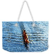 Rowing In Weekender Tote Bag