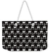 Rows And Rows Of Anonymous Faceless People With One Smiling Weekender Tote Bag