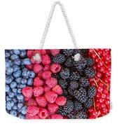 Rows Of  Berries  Weekender Tote Bag