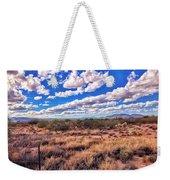 Rows Of Clouds Over Sonoran Desert Weekender Tote Bag