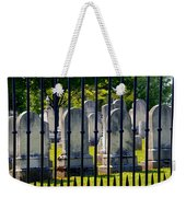 Rows Of Stone And Iron Weekender Tote Bag