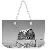Royal Barn Winter Bnw Weekender Tote Bag