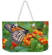 Royal Butterfly Weekender Tote Bag