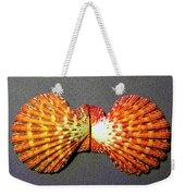 Royal Cloak Scallop Seashell  Weekender Tote Bag