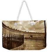 Royal Crescent Bath Somerset England Uk Weekender Tote Bag
