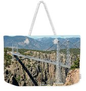 Royal Gorge Bridge In Summer Weekender Tote Bag
