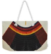 Royal Hawaiian Feather Cape Weekender Tote Bag
