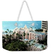 Royal Hawaiian Hotel  Weekender Tote Bag