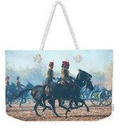 Royal Horse Artillery Painted Weekender Tote Bag