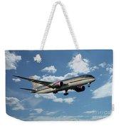Royal Jordanian 787 Jy-baf Weekender Tote Bag