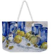 Royal Lemons Weekender Tote Bag