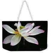 Royal Lotus Weekender Tote Bag