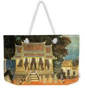 Royal Palace Ramayana 18 Weekender Tote Bag