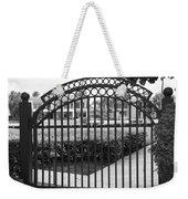 Royal Palm Gate Weekender Tote Bag