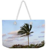 Royal Palm Tree Weekender Tote Bag