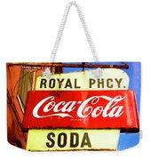 Royal Phcy Coke Sign Weekender Tote Bag