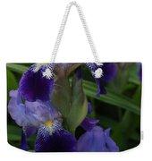 Royal Purple Iris's Weekender Tote Bag