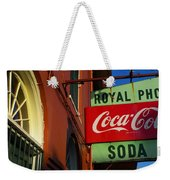 Royal Weekender Tote Bag
