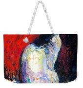 Royal Sphynx Cat Painting Weekender Tote Bag by Svetlana Novikova