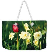 Royal Spring Weekender Tote Bag