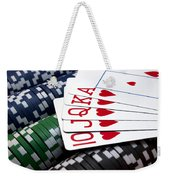 Royally Flushed Weekender Tote Bag