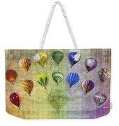 Roygbiv Balloons Weekender Tote Bag