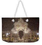 Rua Agusta Arch Lisbon Textured Weekender Tote Bag