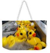 Rubber Duckies Weekender Tote Bag