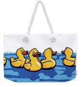 Rubber Ducks Weekender Tote Bag