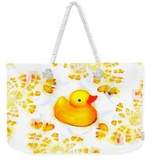 Rubber Ducks Weekender Tote Bag