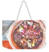 Rubbish Turns Into Compost Weekender Tote Bag