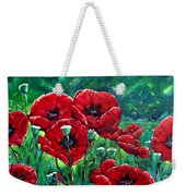 Rubies In The Emerald Forest Weekender Tote Bag