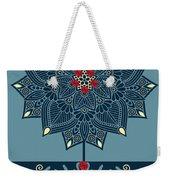 Rubino Zen Flower Weekender Tote Bag