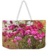 Ruby Like Flora Weekender Tote Bag