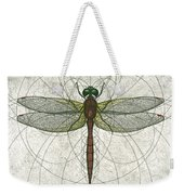 Ruby Meadowhawk Dragonfly Weekender Tote Bag