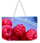Ruby Raspberries Weekender Tote Bag