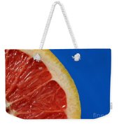 Ruby Red Grapefruit Quarter Weekender Tote Bag