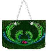 Ruby Singularity In Emerald Sapphire Nest Weekender Tote Bag