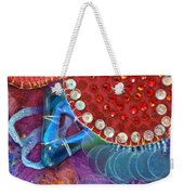 Ruby Slippers 4 Weekender Tote Bag