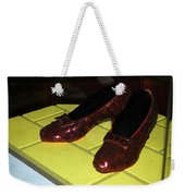 Ruby Slippers On The Yellow Brick Road Weekender Tote Bag