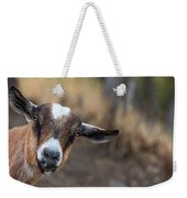 Ruby The Goat Weekender Tote Bag
