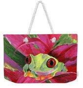 Ruby The Red Eyed Tree Frog Weekender Tote Bag