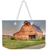 Ruddish Barn At Dawn Weekender Tote Bag