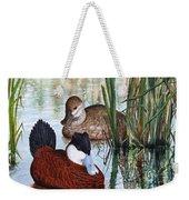 Ruddy Ducks Weekender Tote Bag