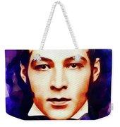 Rudolph Valentino, Vintage Movie Star Weekender Tote Bag