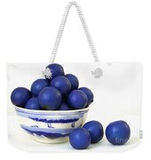 Rudraksha Tree Seeds In Vintage Bowl Weekender Tote Bag