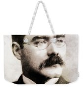 Rudyard Kipling, Literary Legend Weekender Tote Bag