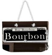Rue Bourbon Street - New Orleans Weekender Tote Bag